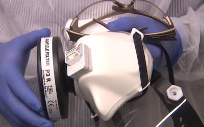 CARDAM dodalo Ministerstvu zdravotnictví první masky proti koronaviru
