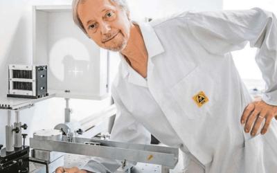 Vesmírná nanodružice má kameru z Břežan