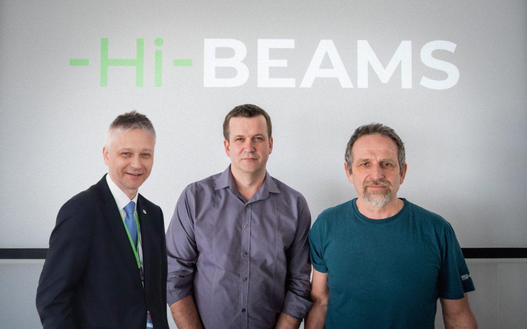 Centrum HiLASE představuje nový spin-off Hi-Beams, s.r.o.